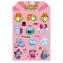 Bravest Warriors Magnet Sheet. Contains 18 brightly colored magnets.
