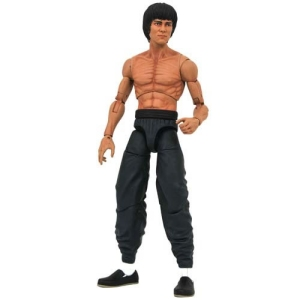 Bruce Lee Shirtless Select Action Figure