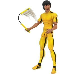 Bruce Lee Yellow Jumpsuit Select Action Figure