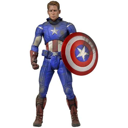 Captain America Battle Damaged Version 1/4 Scale Action Figure.