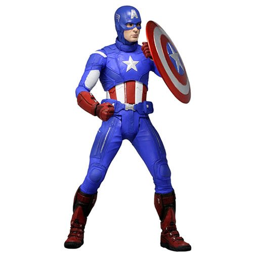 Captain America 1/4 Scale Figure. Limited to 7500 units worldwide.