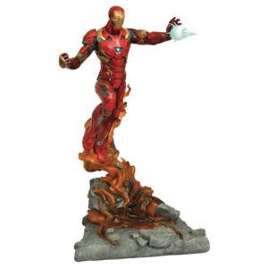 Marvel Milestones Captain America Civil War Iron Man Statue