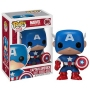 Captain America Pop! Vinyl Figure.