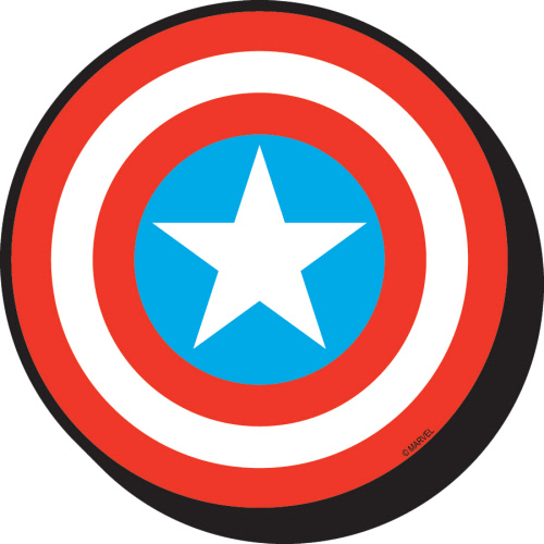 Captain America Shield Magnet.