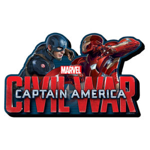 Captain America Civil War Face to Face Funky Chunky Magnet