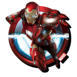 Captain America Civil War Iron Man Funky Chunky Magnet