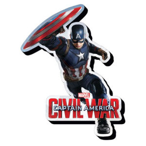 Captain America Civil War Captain America Funky Chunky Magnet