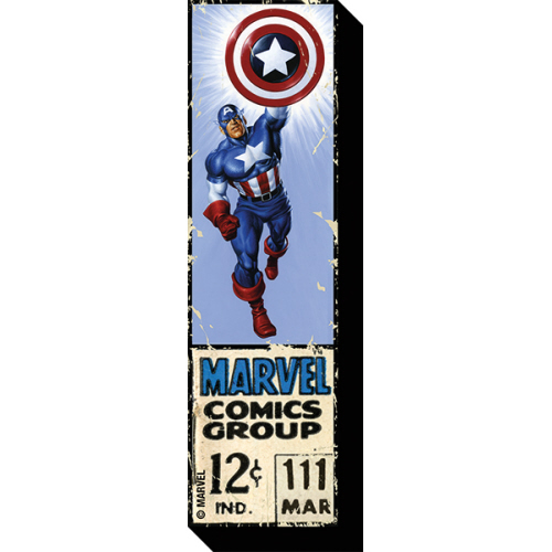 Captain America 12 Cent Funky Chunky Magnet,