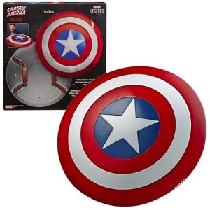 Marvel Legends 80th Anniversary Series Captain America Shield Prop Replica