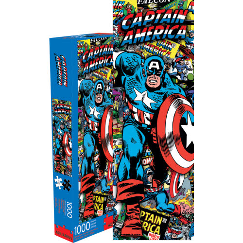Marvel Captain America 1000 piece Slim Puzzle.