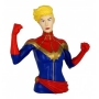 Captain Marvel PVC Bust Bank.