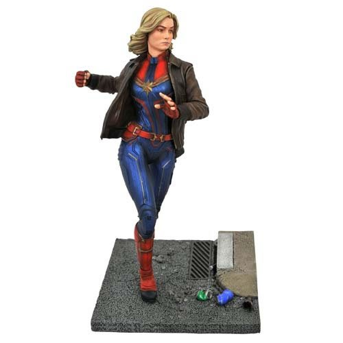 Marvel Premiere Collection Captain Marvel Movie Captain Marvel Statue