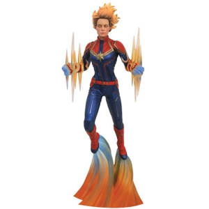 Marvel PVC Gallery Captain Marvel Movie Captain Marvel Binary Power Statue