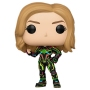 Captain Marvel Movie Captain Marvel Neon Suit Pop! Vinyl Figure.