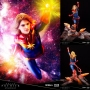 ArtFX Premier Marvel Comics Captain Marvel 1/10th Scale Statue. Each ArtFX Premier statue comes in a luxurious packaging that differs from other Kotobukiya products. Every ArtFX Premier statue includes a serial number on the base, making each statue a one