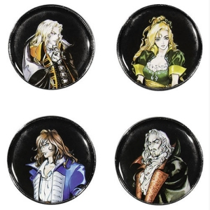 Castlevania: Syphony Of The Night Pin 4-Pack