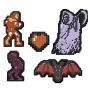 Castlevania 8-Bit Pins Set of 5.