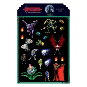 Castlevania: Syphony Of The Night Magnet Sheet
