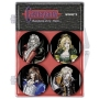 Castlevania: Syphony Of The Night Set of 4 Magnets.