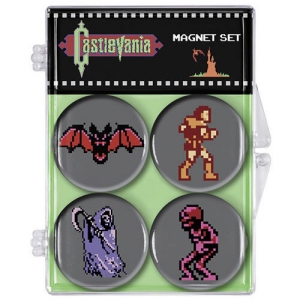 Castlevania 8-Bit Magnets Set of 4