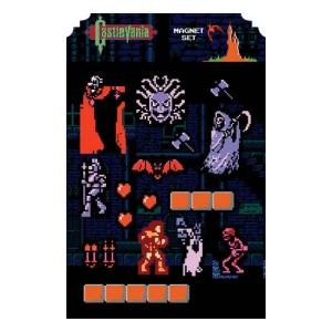 Castlevania 8-Bit Magnet Sheet