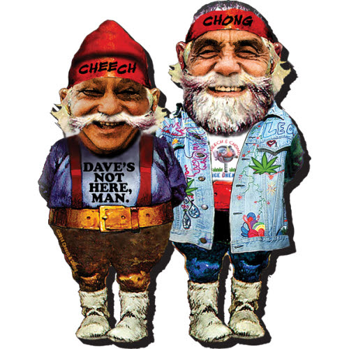 Cheech and Chong Funky Chunky Magnet