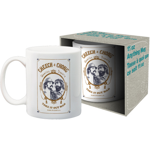 Cheech and Chong 11 Ounce Boxed Mug.