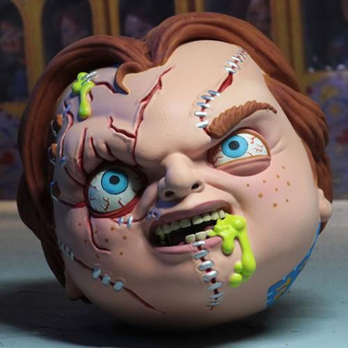 Madballs Horrorballs Chucky 4 Inch Foam Ball.