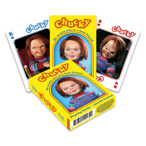 Chucky Playing Cards