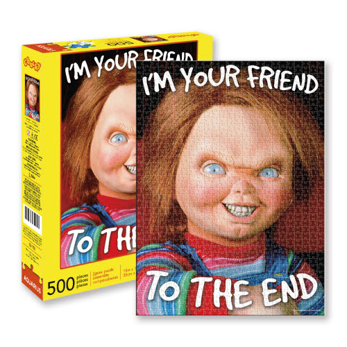 Chucky 500 Piece Puzzle.