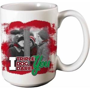 A Christmas Story Triple Dog Dare 12 Ounce Ceramic Mug
