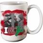 A Christmas Story Triple Dog Dare 12 Ounce Ceramic Mug.