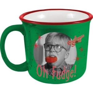 A Christmas Story Oh Fudge Camper Mug