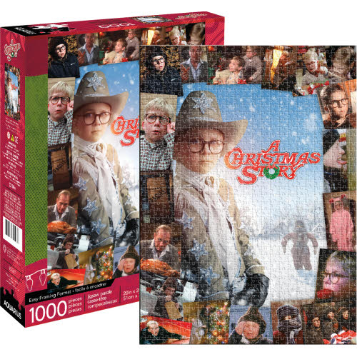 A Christmas Story 1000 Piece Puzzle.