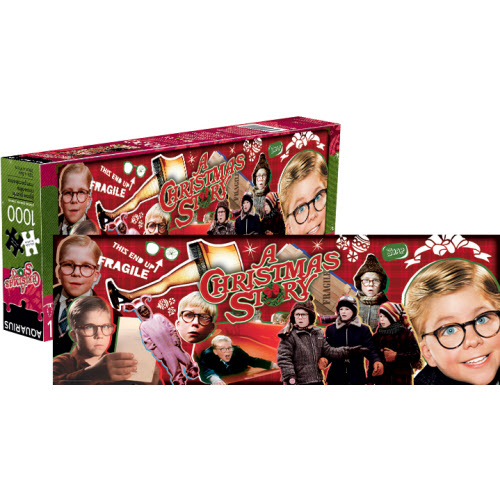 A Christmas Story 1000 Piece Slim Puzzle.