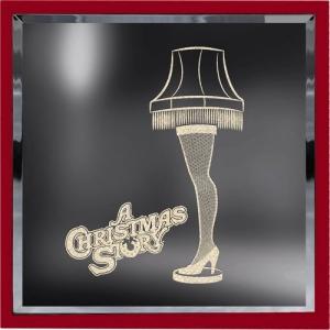 A Christmas Story Leg Lamp Lighted Sign