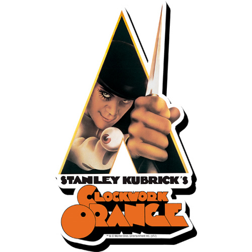 A Clockwork Orange Knife Funky Chunky Magnet.