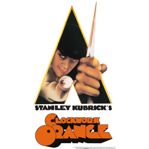 A Clockwork Orange Knife Tin Sign.