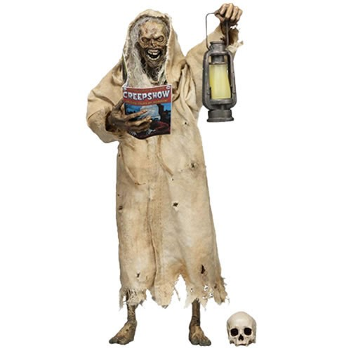 Creepshow The Creep 7 Inch Action Figure. The iconic horror franchise is back for new tales of terror! The Creep stands over 7 Inches tall and is fully posable, with over 25 points of articulation.