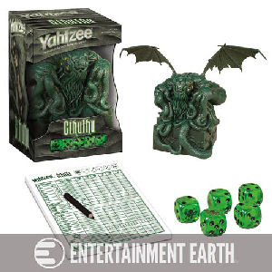 Cthulhu Collectors Edition Yahtzee Game