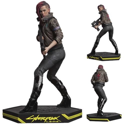Cyberpunk 2077 Female V  Statue