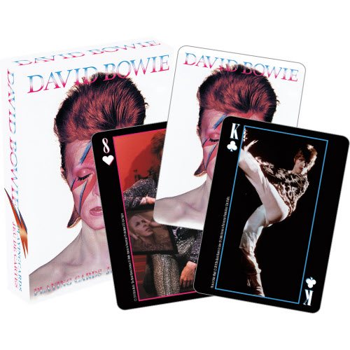 David Bowie Playing Cards.