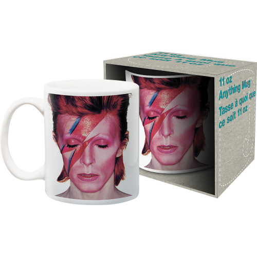 David Bowie Aladdin Sane 11 Ounce Boxed Mug.