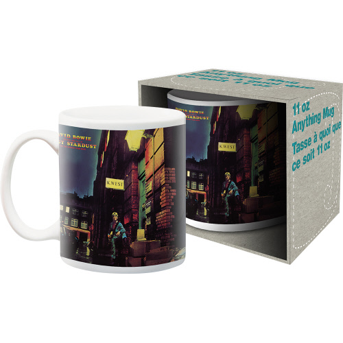 David Bowie Ziggy 11 Ounce Boxed Mug.