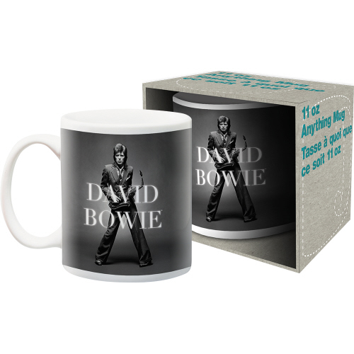 David Bowie Sax 11 Ounce Boxed Mug.