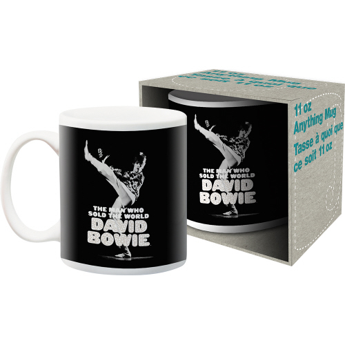David Bowie Sold The World 11 Ounce Boxed Mug.