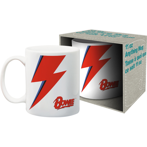 David Bowie Logo 11 Ounce Boxed Mug.