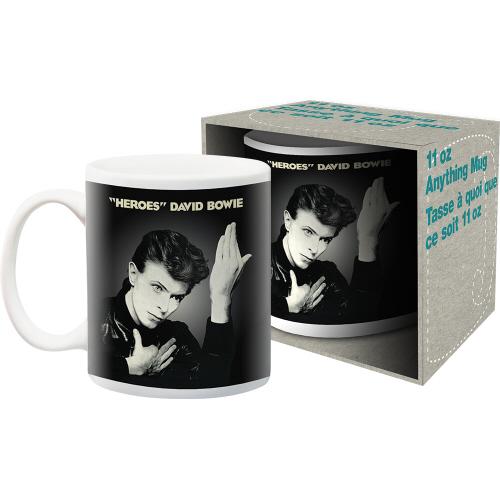 David Bowie Heroes 11 Ounce Mug.