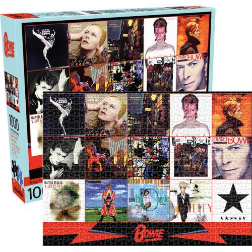 David Bowie Albums 1000 Piece Puzzle.
