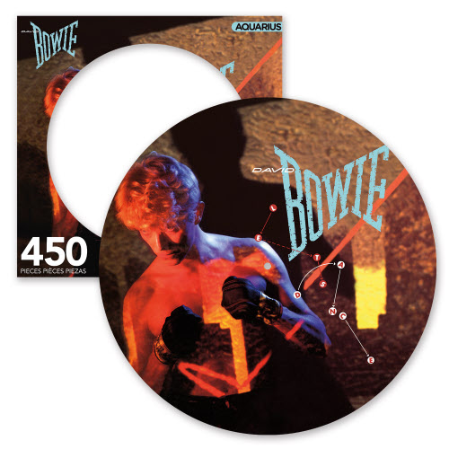 David Bowie Lets Dance 450 Piece Picture Disc Puzzle.